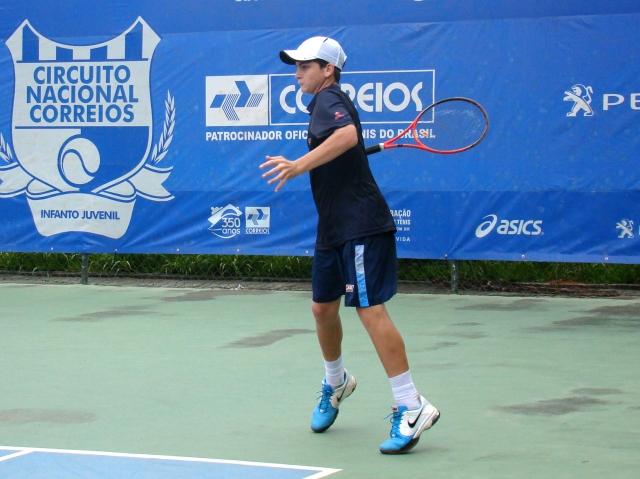 Thiago Wild venceu na primeira rodada em Manaus. Crédito: Rubens Lisboa/CBT