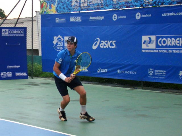 Rafael Wagner disputa a categoria 16 anos no Brasileirão. Crédito: Rubens Lisboa/CBT
