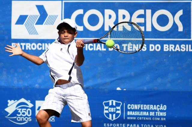 O pernambucano Lucas Batista venceu sua primeira partida no GA. Crédito: Anderson Pinheiro