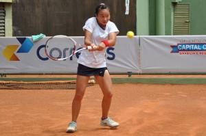 Pei Ju Chien é finalista de 16 anos feminino Crédito: Rubens Lisboa/CBT