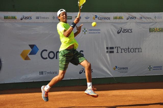 Christian Oliveira - categoria 16 anos masculino Crédito: Rubens Lisboa/CBT