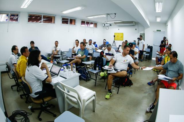 Congresso técnico da Copa das Federações Crédito: Marcello Zambrana/CBT